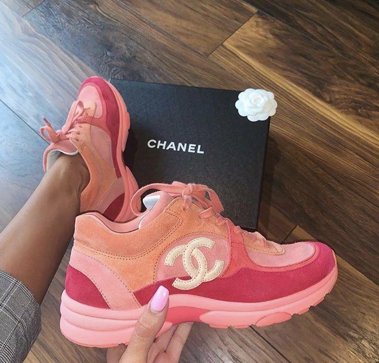 Chanel sneakers, Sneakers, Trending shoes