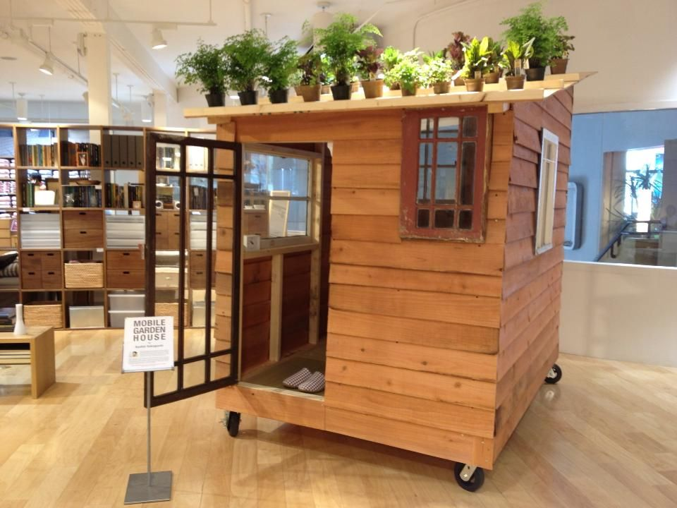Muji Mobili ~ Self built mobile house made by kyohei sakaguchi is displayed on
