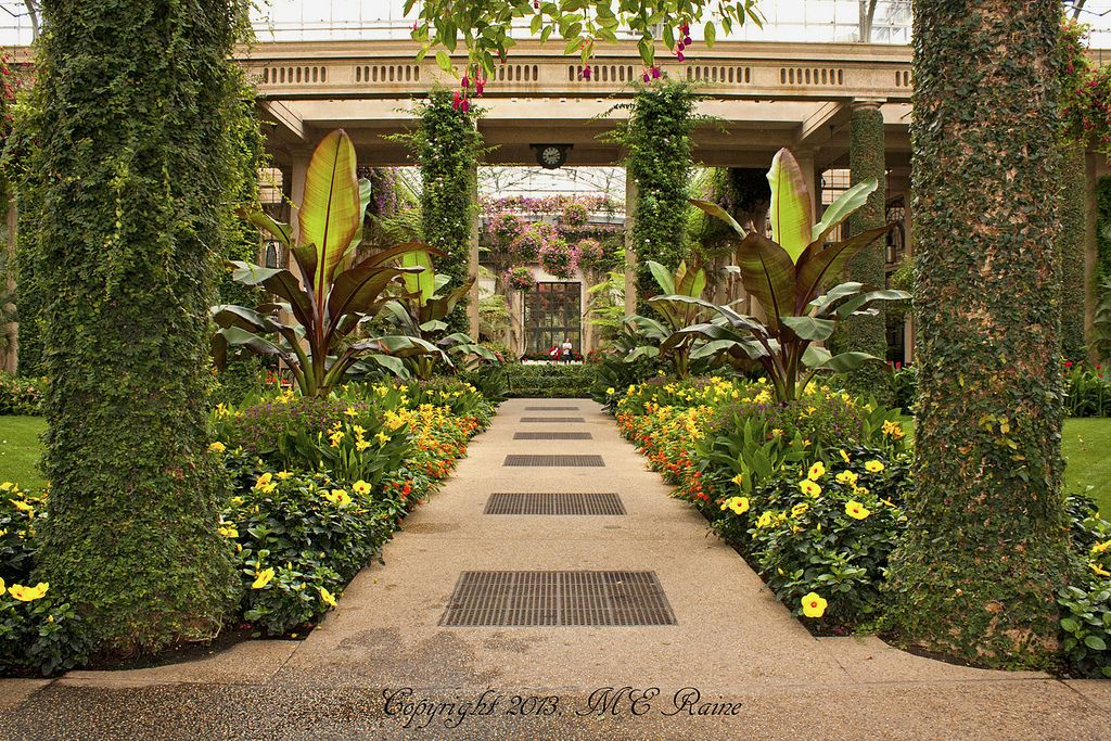 Orangery 1 Of 3 Of The Main Conservatory At Longwood Gardens Of Kennett Square Pa Longwood Gardens Alpine Plants Orangery