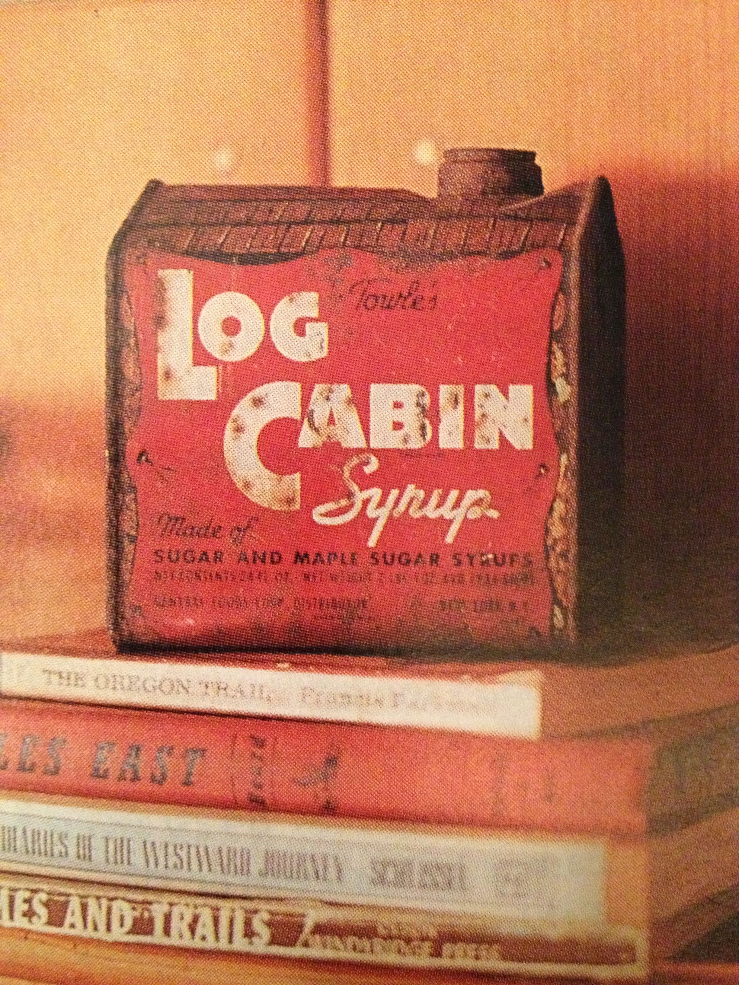 Dating log cabin syrup cans