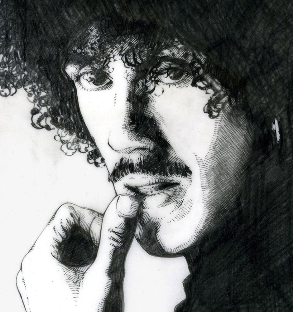 Thin Lizzy Philip Lynott Portrait 16x11 Fine Art Print By Jim Fitzpatrick