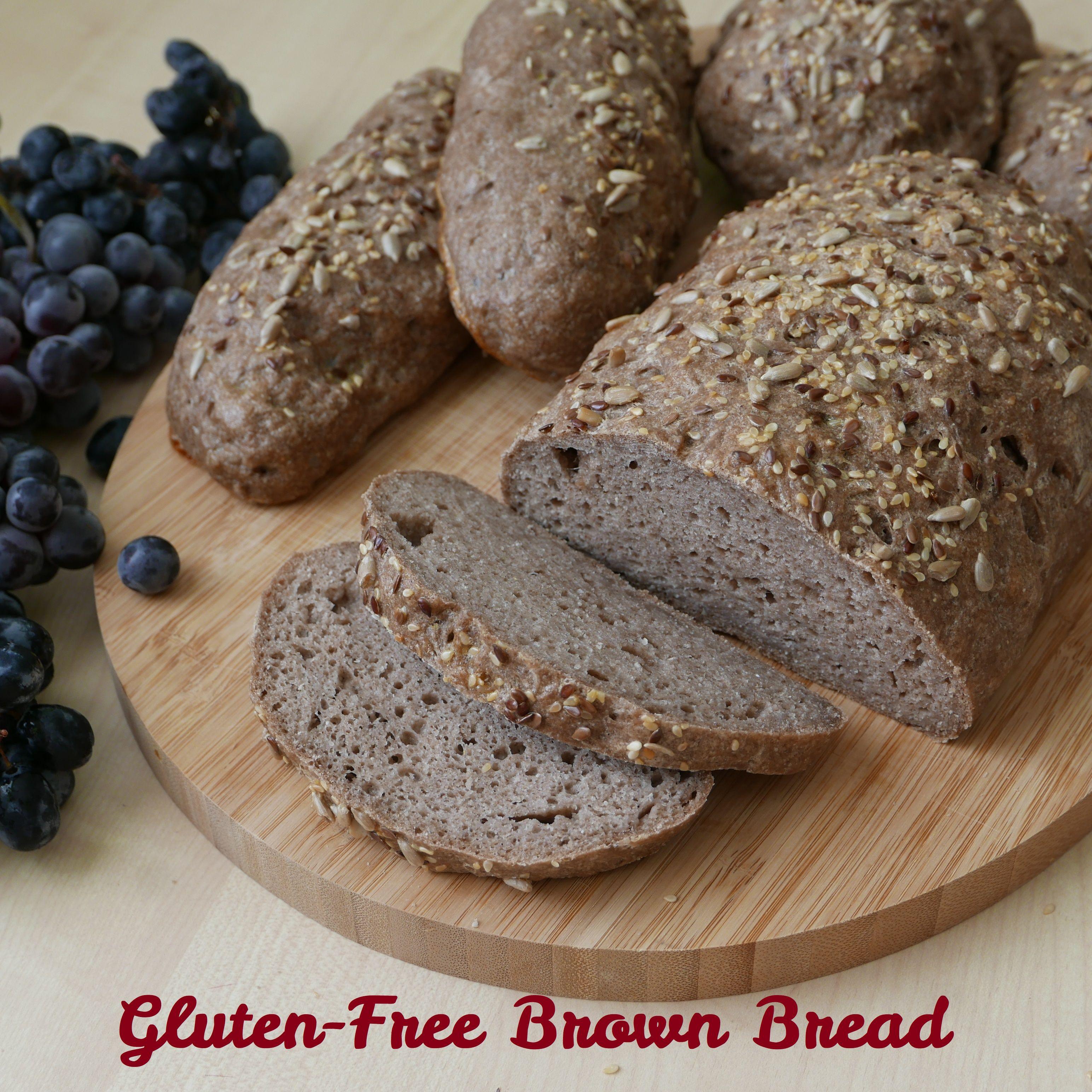 Gluten-Free Brown Bread | No-Knead, Gluten-Free, D