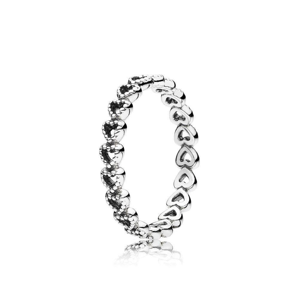 Gereihte Herzen Ring  190980  jewelry