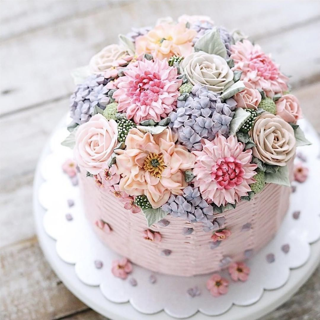 If Spring Were A Cake It Would Certainly Resemble This Stunning