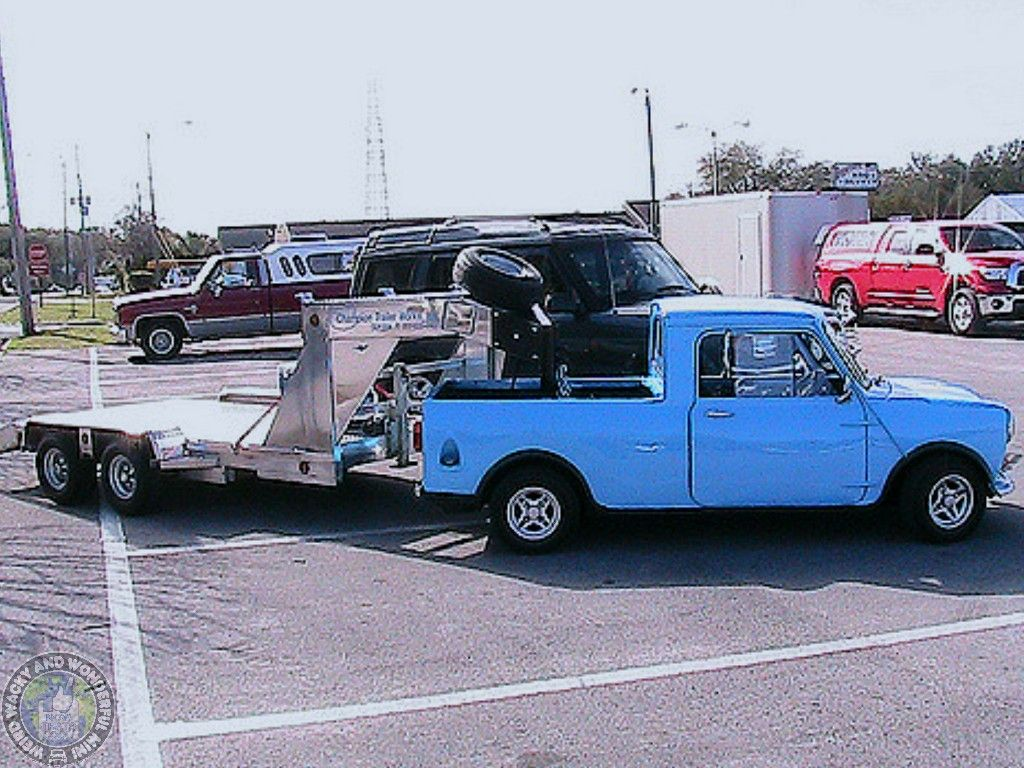 Mini Pickup 5th Wheel Perfect Towintuesday I Think That Covers It