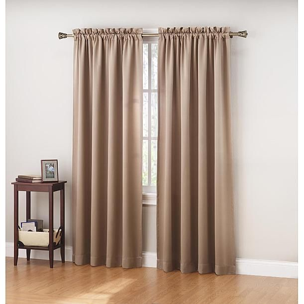 Room - Colormate Jillian Blackout Curtain Panel $10 Home Sweet Home