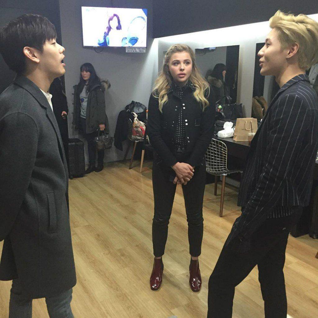 160306 ednam10INS update Room full of talent. #EricNam #ChloeMoretz #Taemin #에릭남 #클로이모레츠 #태민 #CJEM #SMent #ProductionO #ChloeInKorea #Shinee #샤이니