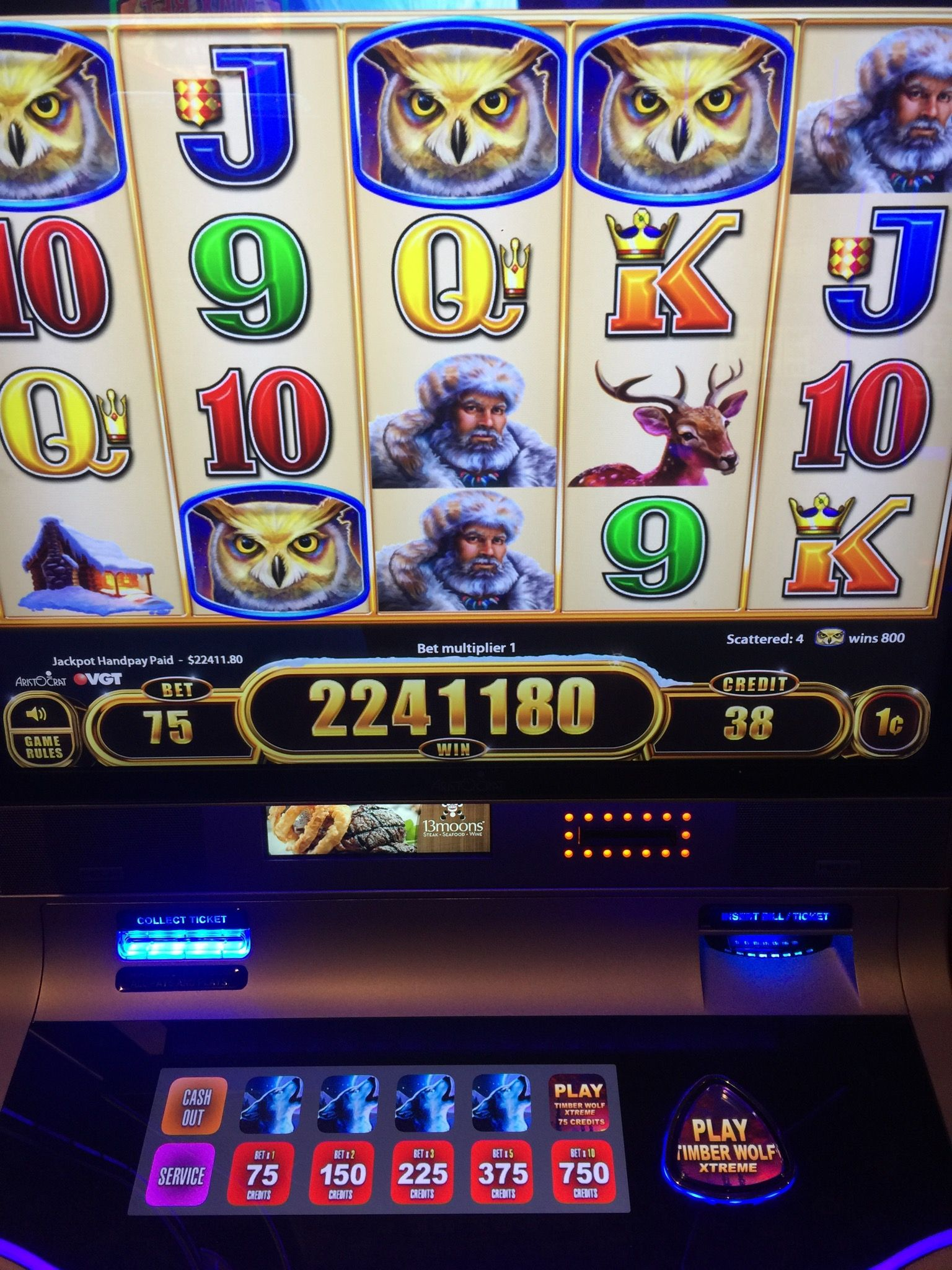 JACKPOT ALERT 💰 Check out this XTREME win of 22,411.80