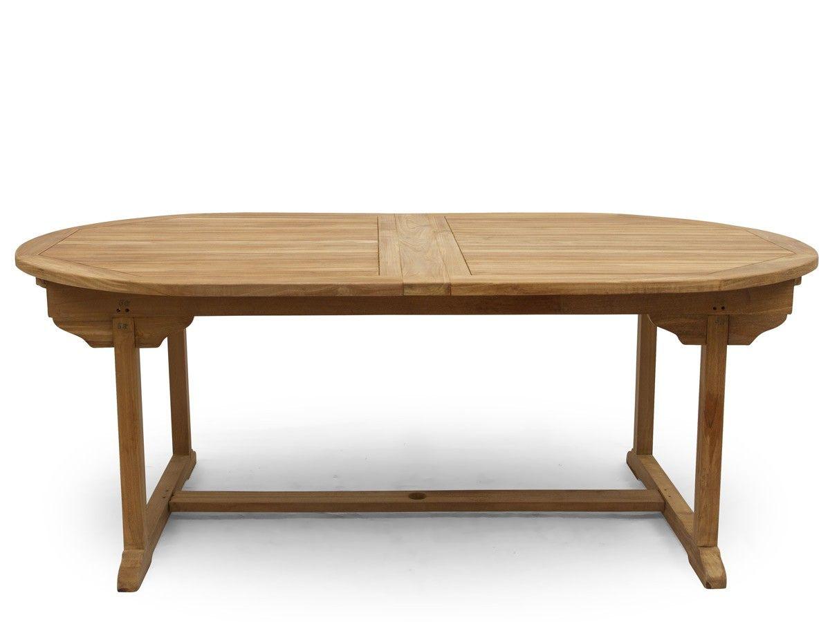 Massiver Ausziehbarer Gartentisch Aus Feinstem Teakholz ☞ Günstig  Gartenmöbel Online Kaufen Bei Www.antikmoebel.de. Über Ausstellungsfläche