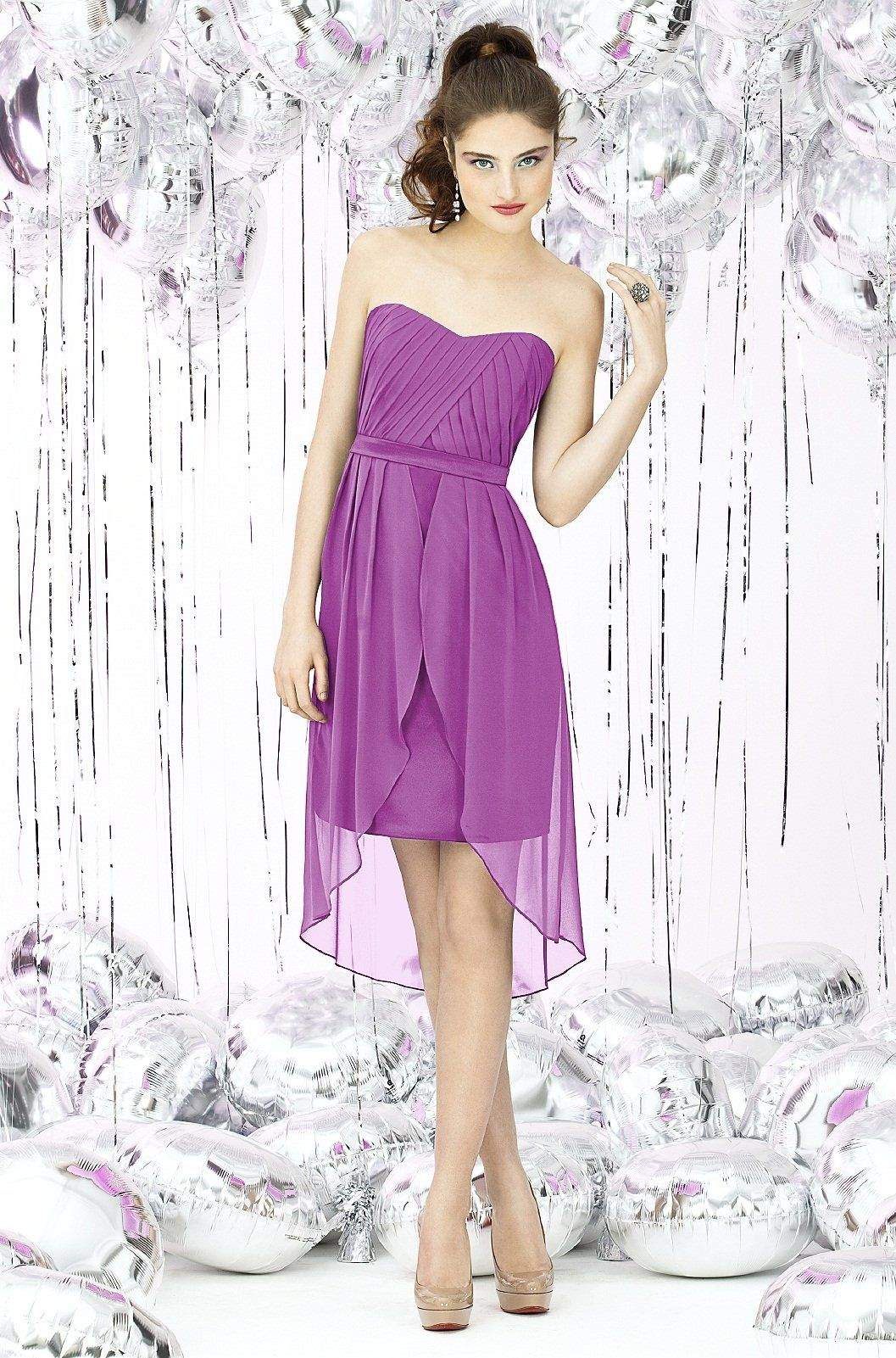 Fashion friday radiant orchid bridesmaid dresses with weddington shop social bridesmaid dress 8120 in lux chiffon at weddington way find the perfect made to order bridesmaid dresses for your bridal party in your ombrellifo Image collections