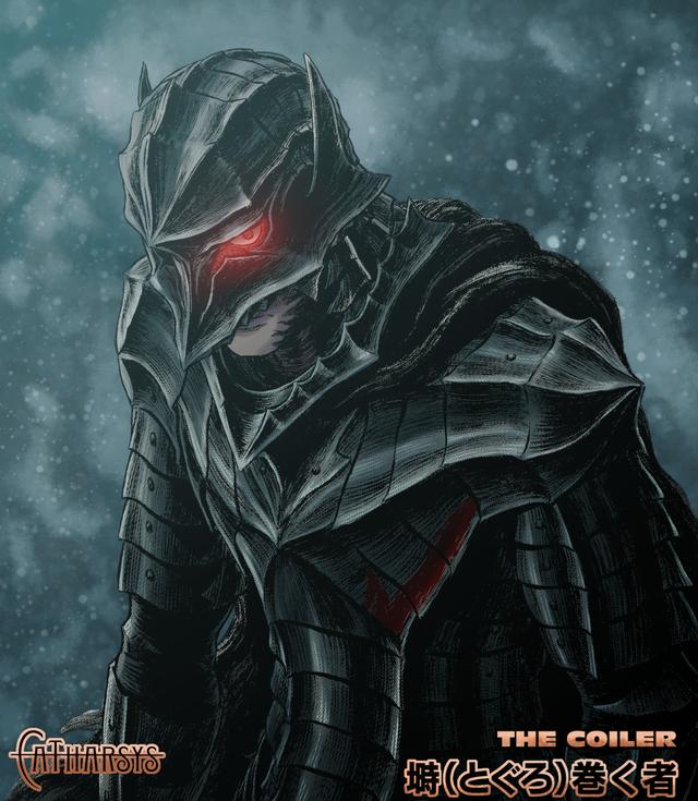 The berserker armor, colored by me Berserk in 2020