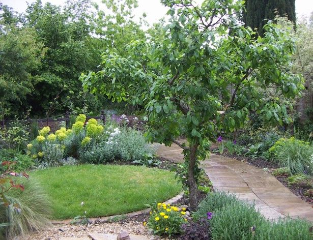 Garden Ideas, Fruit Garden Design With Gravel Design Ideas And ...