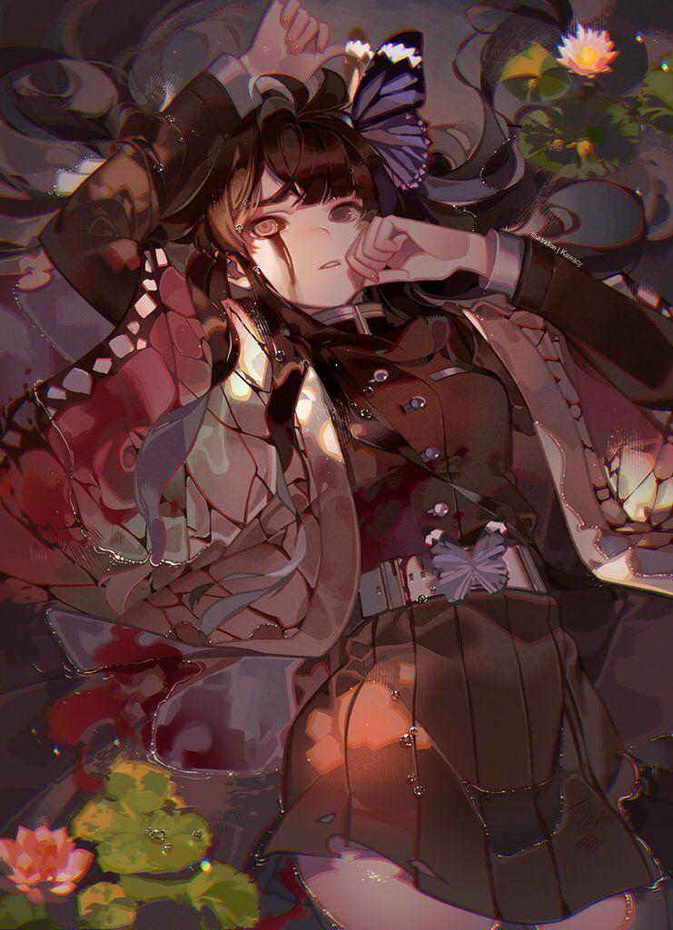 鬼滅の刃つゆりカナヲイラスト