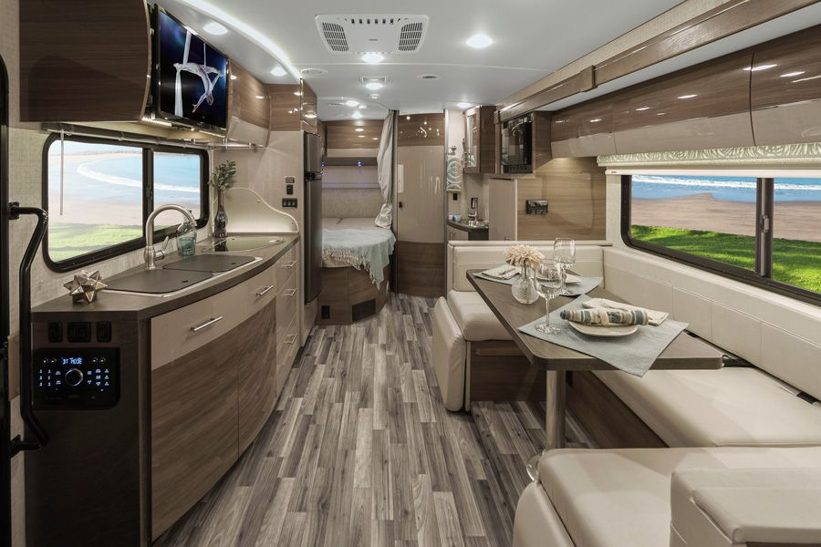 Winnebago RV Class C Navion Interior Places2Go Camping