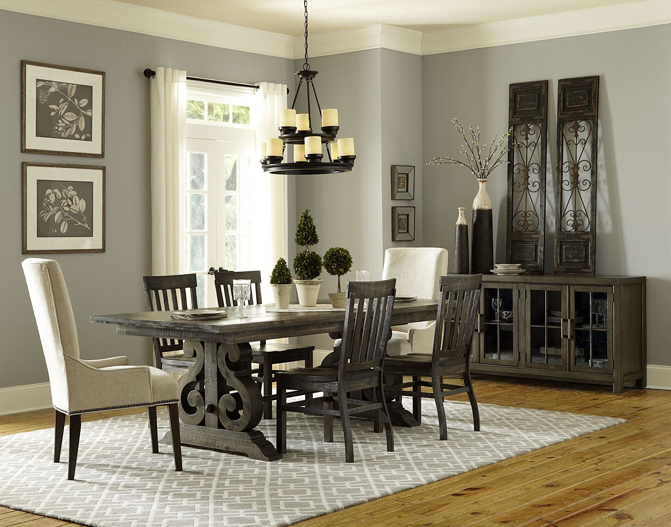 Bellamy Rectangular Extendable Dining Room Set Rectangular Dining Table Casual Dining Rooms Modern Dining Room