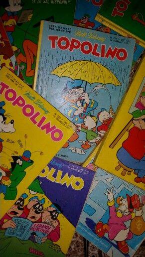 Noi che......... in vacanza non mancava Topolino:-)