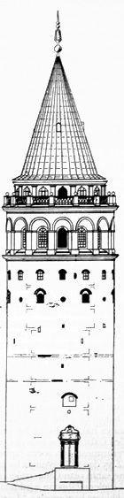 Galata Kulesi En Sevdiğim Pinterest Arquitectura