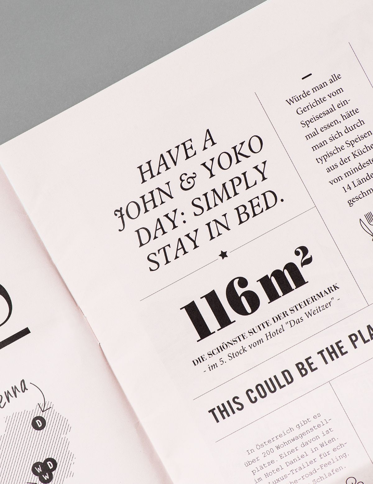 Weitzer Paper Publishing On Behance Layout Typography