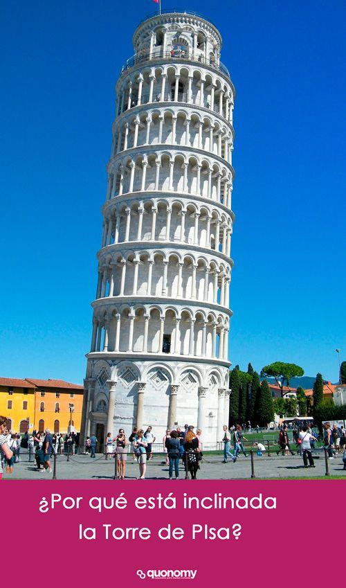 foto de Por qué está inclinada la Torre de Pisa en 2020 Pisa