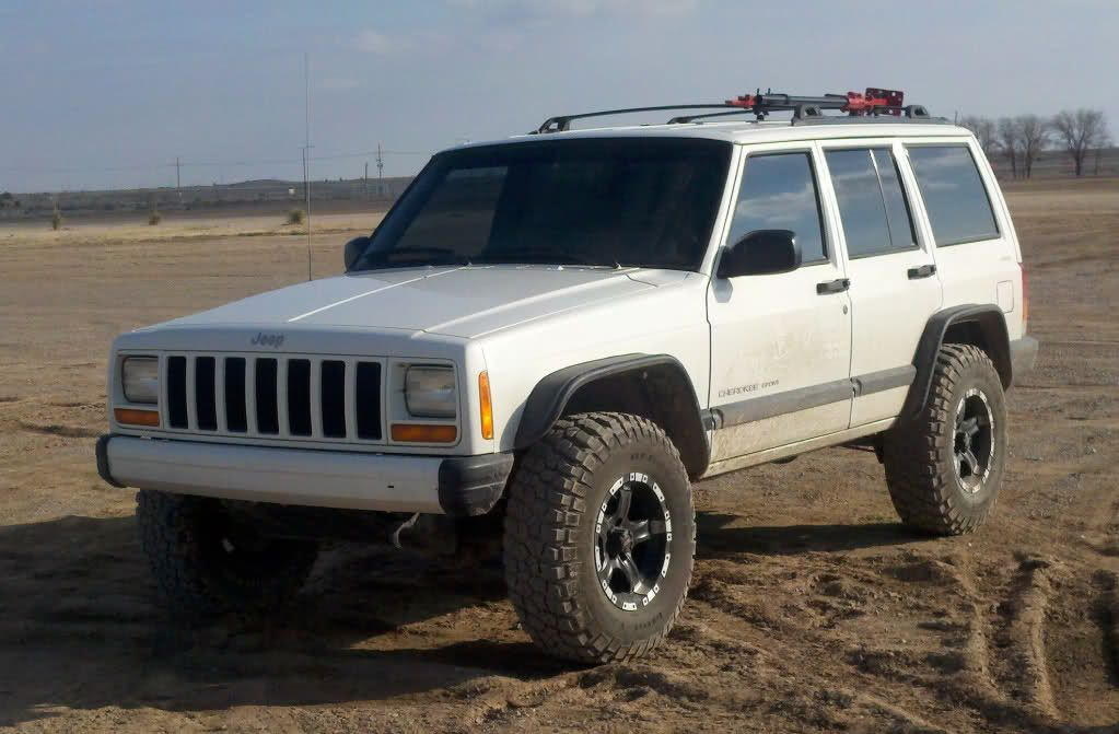 31 Tires Upcountry No Additional Lift Bushwacker Flat Flares
