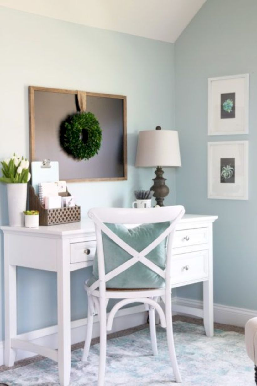 40 Farmhouse Office Desk Ideas for Work from Home