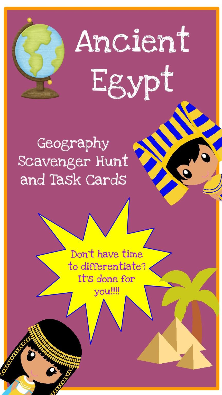 what are the geographical features of ancient egypt