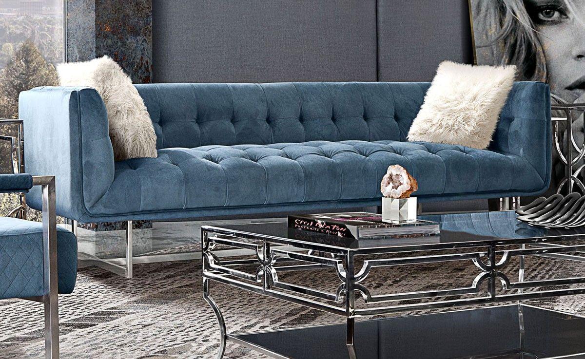 Modern Velvet Sofas Home Interior Design Ideas In 2020 Modern Velvet Sofa Velvet Furniture Furniture