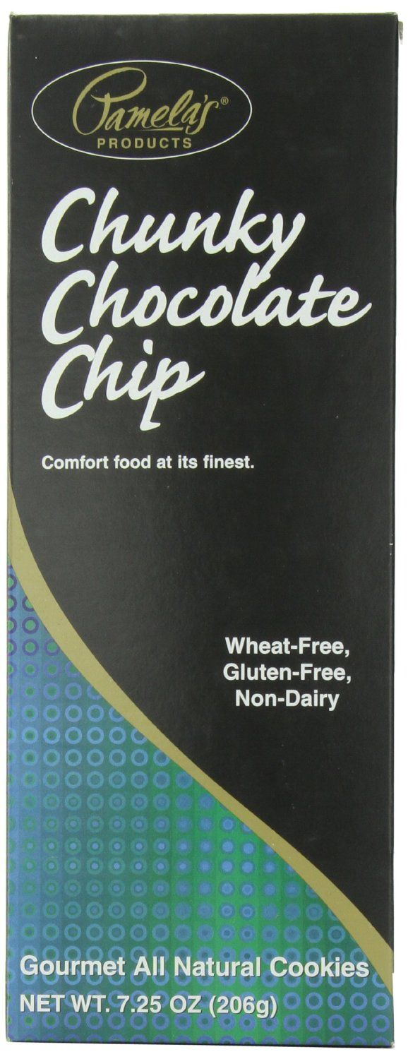 Pamela's Products Chunky Chocolate Chip Cookies, 7.25-Ounce Boxes (Pack of 6): Amazon.com: Grocery & Gourmet Food