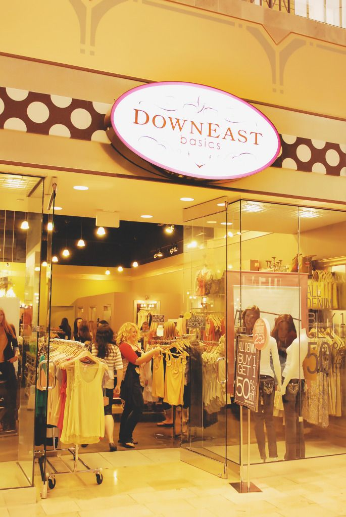 DownEast Basics, I love this store!