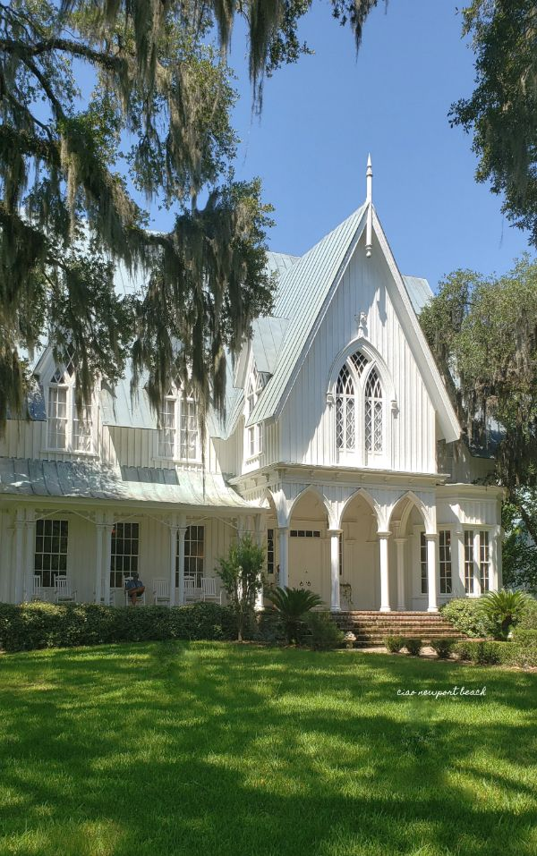 a little southern town called Bluffton Rose hill mansion