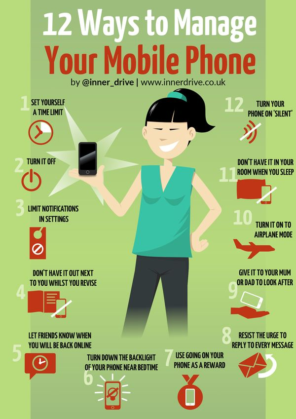 12 ways to manage your phone