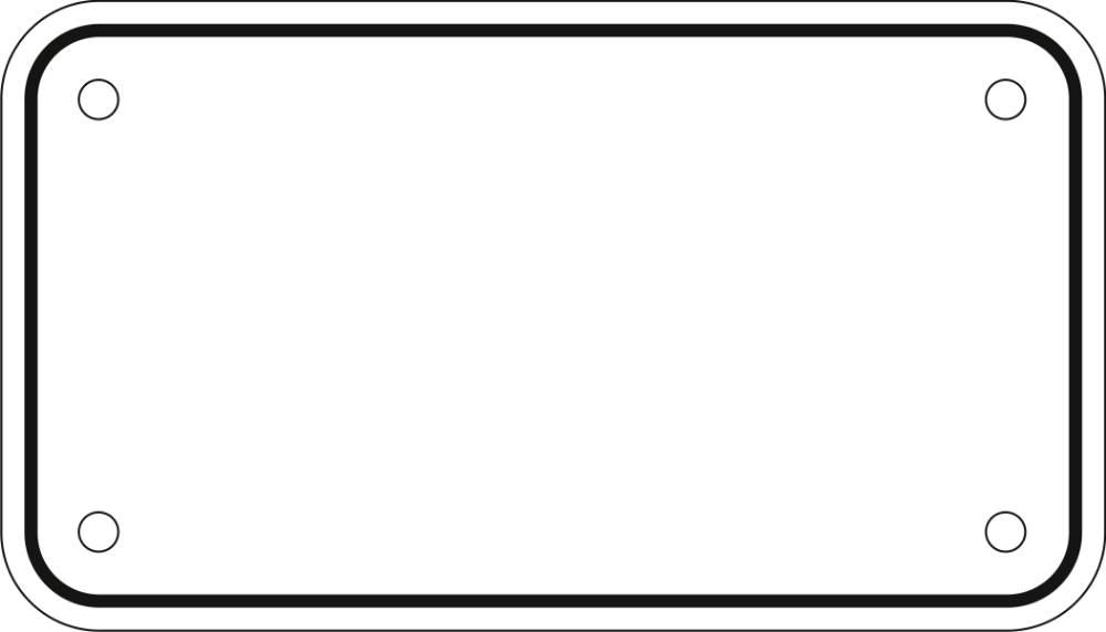 34++ License plate clipart black and white information