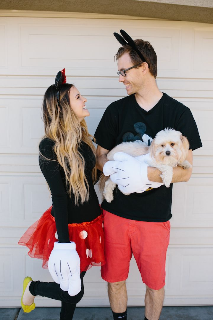 Cheap Diy Couples Costumes For You And Your Pet Modest Halloween