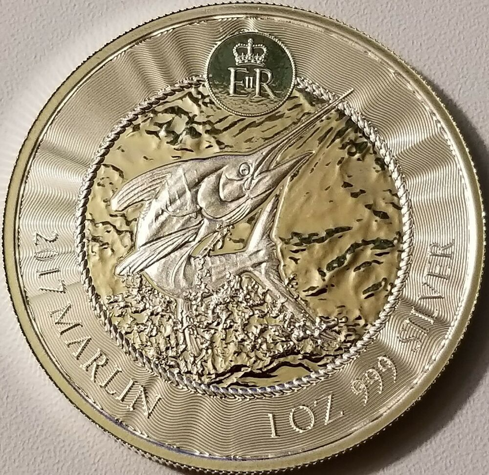 Details About 2017 Cayman Islands Marlin Coin 999 Fine Silver Bullion Bu In 2020 Silver Bullion Coins Silver Eagle Coins