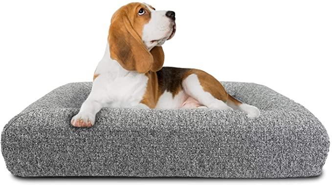 Amazon Com Bolux Dog Bed Memory Foam Pet Bed Orthopedic Dog Bed Dog Kennels And Crates Pads Dog Tra Orthopedic Dog Bed Plush Dog Beds Memory Foam Pet Bed