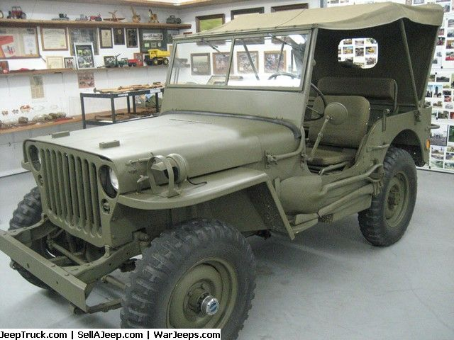 Used Jeeps And Jeep Parts For Sale 1942 Willys Army Jeep Willys Jeep Vintage Jeep Willys