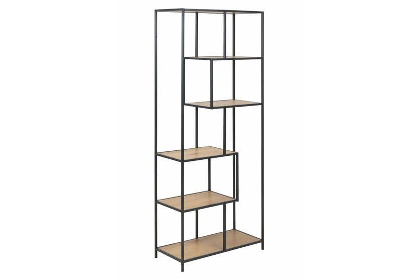 Frida Bookcase 185cm Bookcase Oak Shelves Shelves