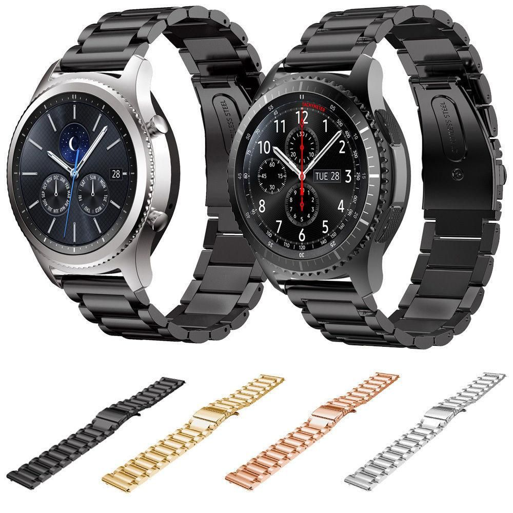 Stainless Steel Samsung Gear S3 Band Classic Frontier Metal Watch Bands Watch Band Bracelet Stainless Steel Band