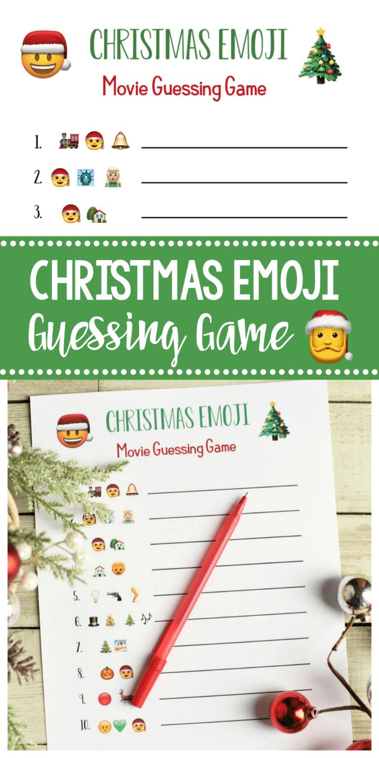 Photo of Fun Christmas Party Games: Emoji Songs & Filme #christmasgamesforfamily Fun Chr …