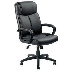 Brenton Studio Crawley Executive High Back Chair Black By
