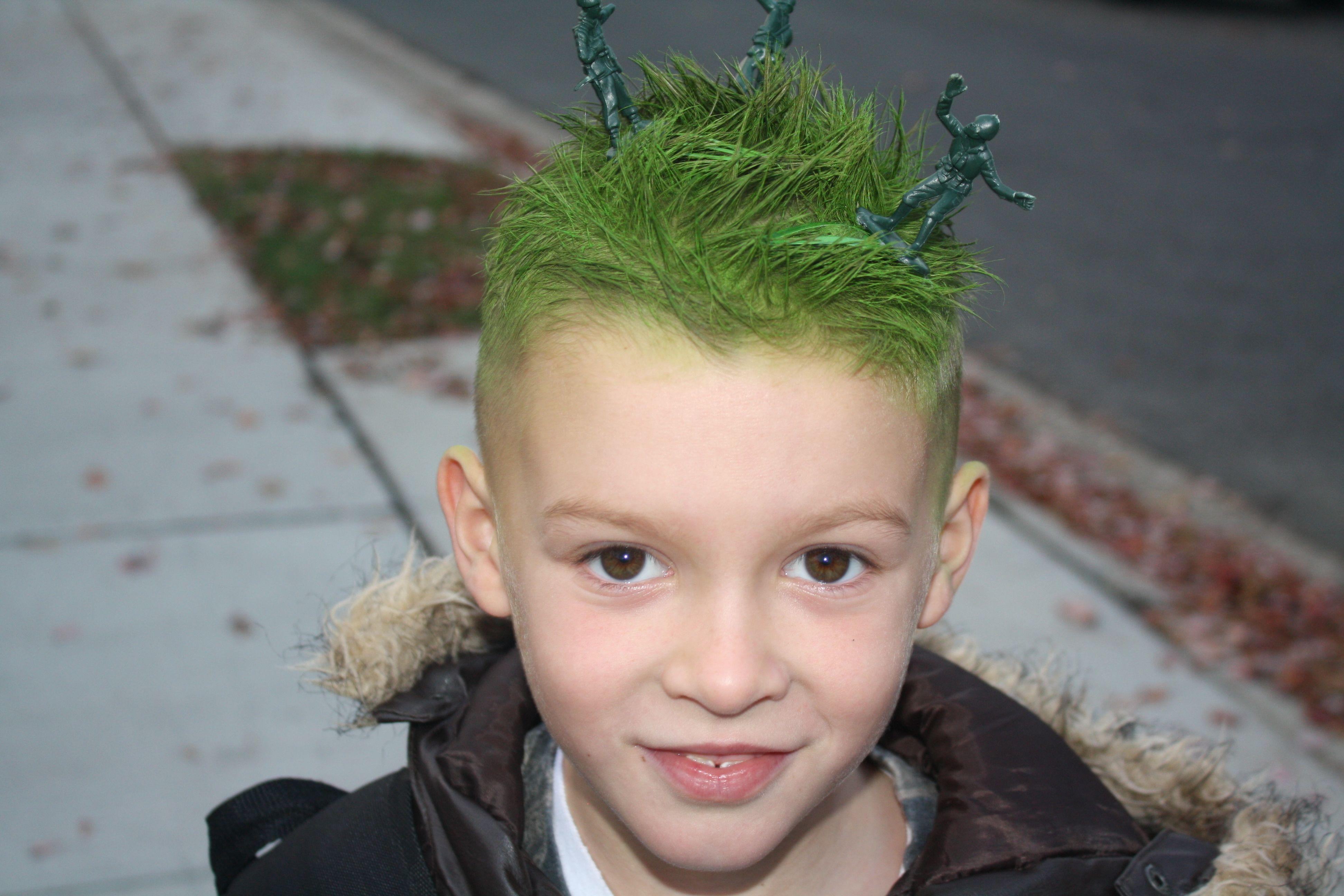 little army men green hair