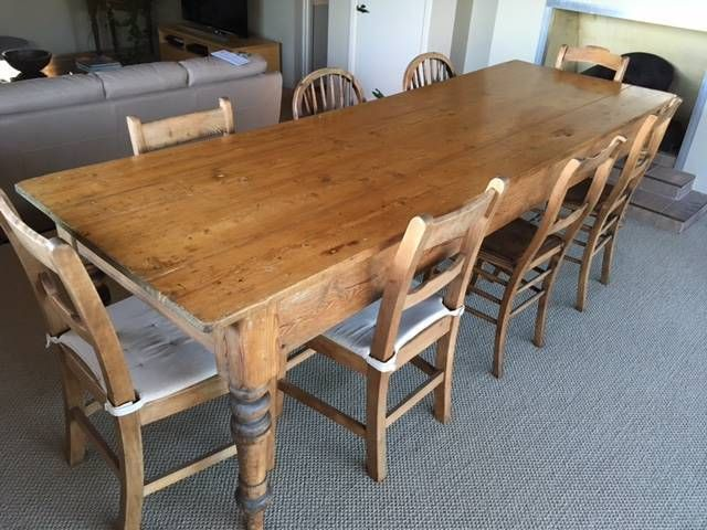 Image Result For Old Farmhouse Table Australia Gumtree