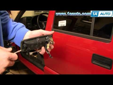 Http Www 1aauto Com 1a Doorhandleexterior Gmc S15sonoma 1adhs00100 1a Auto Shows You How To Repair Install Exterior Door Handles Repair Videos Door Handles