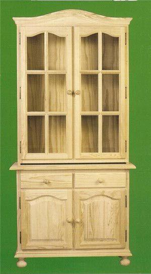 10 características de los muebles de madera natural | Vitrinas de ...