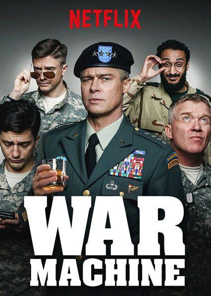 Netflix War Machine David Michod Brad Pitt Michael Hastings Filmes Brad Pitt