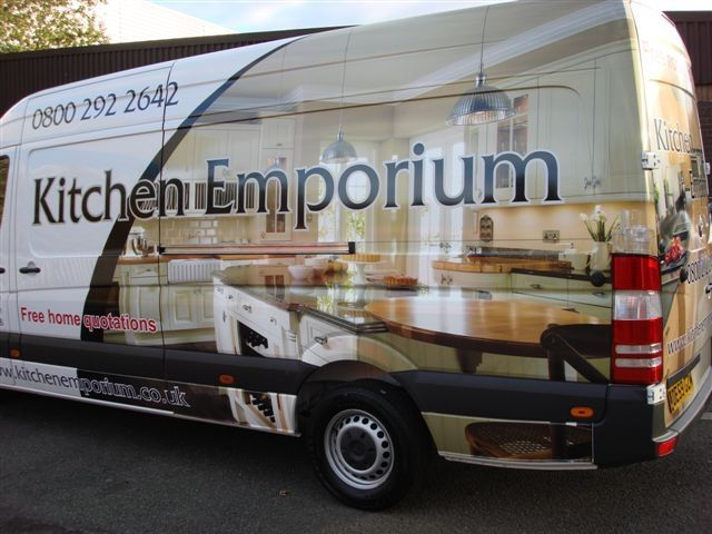 21280a05bf Partial vehicle wrap with additional vinyl graphics using photo - type  legibility bad
