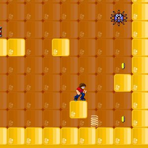 Not a Pointless flash game: Jump and run through various dangerous levels and collect the golden coins avoiding the danger