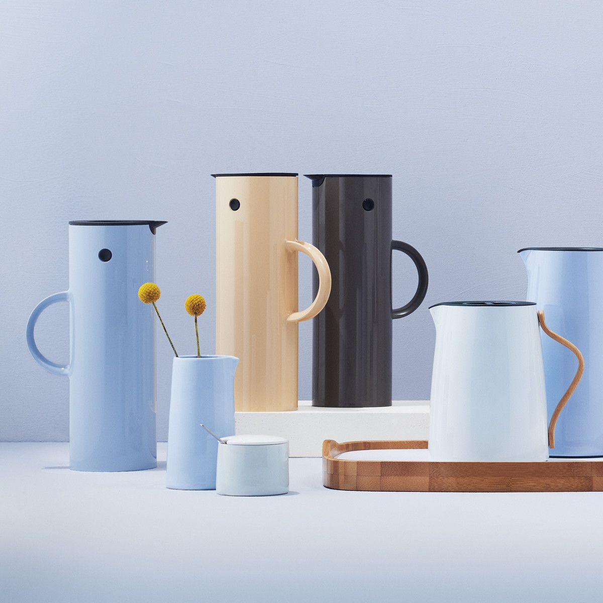 Stelton - Danish Modern 20 Emma Tea Vacuum Jug 1L White ...