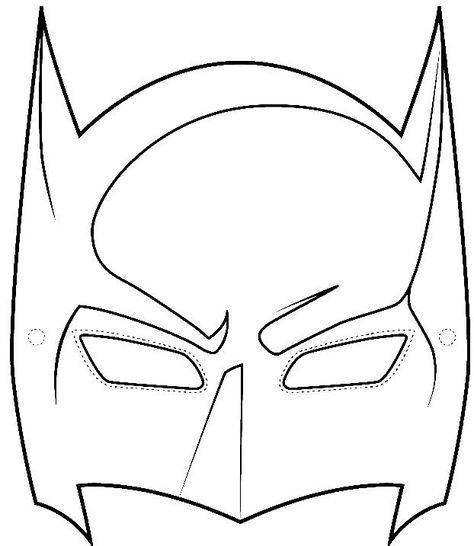 Sample Batman Mask Template Wikihow Clipart Best Clipart Best งานฝ ม อเด ก ต กตากระดาษ การออกแบบโปสเตอร