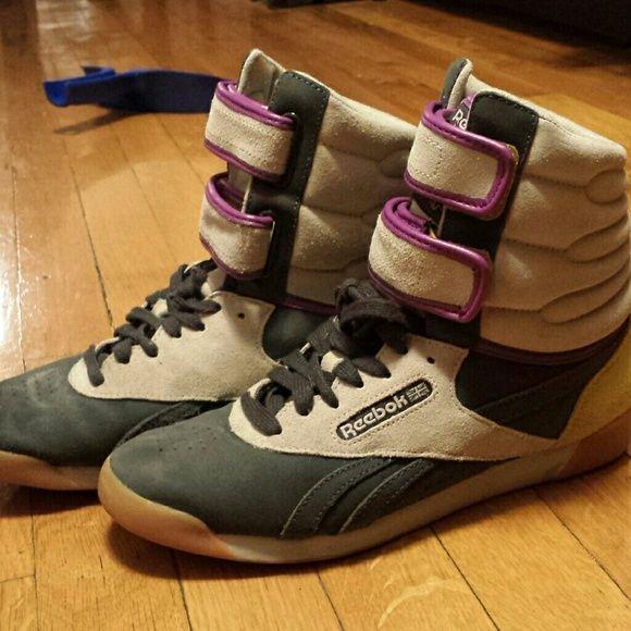 bafa3f0653355 Reebok Classic Boot Sneakers Cute old skool style sneakers but I bought  them last year.